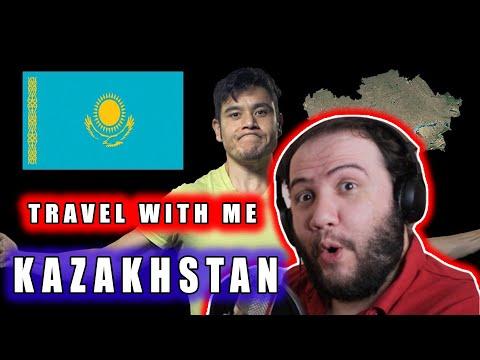 🇰🇿 Kazakhstan - Travel with me - TEACHER PAUL REACTS