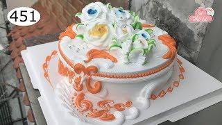 chocolate cake decorating bettercreme vanilla (451) Học Làm Bánh Kem Đơn Giản Đẹp - nổi bật (451)