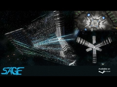 Space Engineers, The Asterisk (Mega Warship, 200,000+ blocks