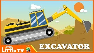 JCB Excavator | Truck Videos for Children | Trucks Cartoon Cars for Kids