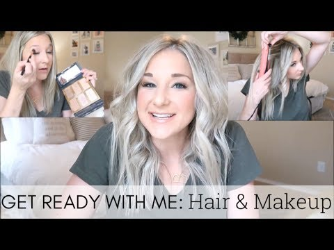 GET READY WITH ME!! EVERYDAY HAIR AND MAKEUP ROUTINE