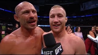 UFC Vancouver: Justin Gaethje and Donald Cerrone Octagon Interviews