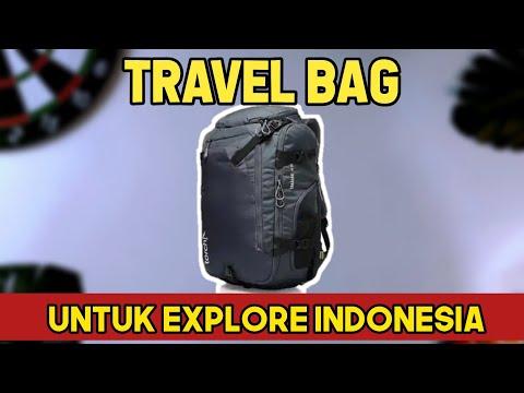 Download TRAVEL BAG UNTUK EXPLORE INDONESIA   TORCH TAKAHAGI 40L