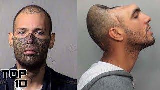 Top 10 Terrifying Prison Mug Shots