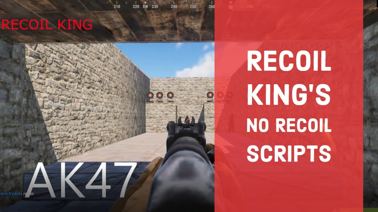 NEWEST RUST NO RECOIL SCRIPTS! | Bloody Mouse |