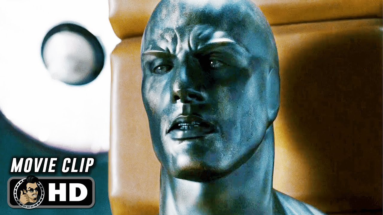"Download FANTASTIC 4: RISE OF THE SILVER SURFER Clip - ""The Silver Surfer Explains Galactus"" (2007)"