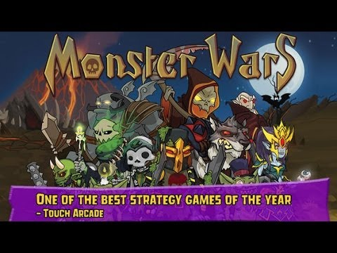 Monster Wars Android & iOS GamePlay Trailer (HD)