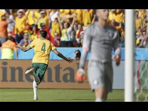 AUSTRALIA 2 VS NETHERLANDS 3 FIFA WORLD CUP 2014 HIGHTLIGHT