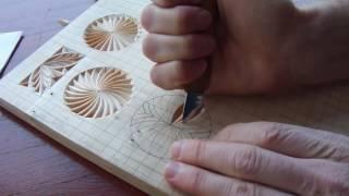 Геометрическая резьба по дереву. Урок 12