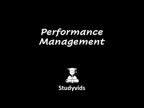 N0510M  Performance Management
