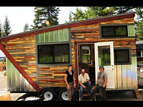 Tiny House Community in Canada YouTube