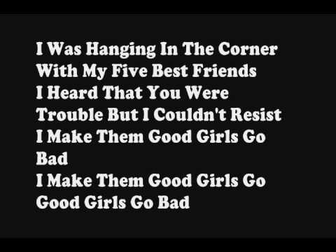 Cobra Starship ft. Leighton Meester - Good Girls Go Bad (Official Lyrics)
