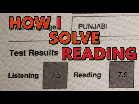 Repeat Reading test step by step answers | Ielts Reading