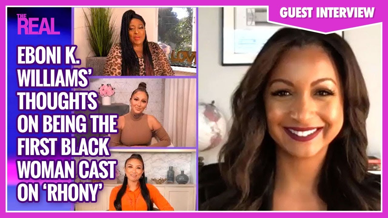 Eboni K. Williams Is Proud to Be the First Black 'RHONY' Cast Member