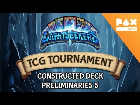 Pax South 2018 Constructed Deck Tournament - Preliminaries 5