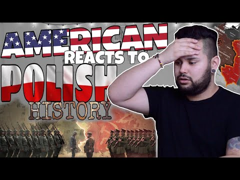 American REACTS  Polish History