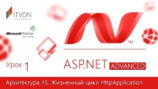 ASP.NET Advanced. Урок 1. Архитектура IIS. Жизненный цикл HttpApplication.