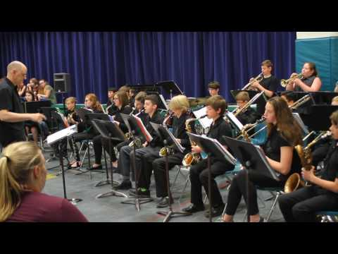 Schaghticoke Middle school Jazz concert