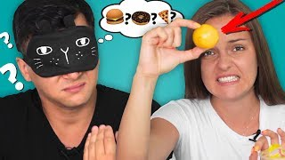 ЧТО У МЕНЯ ВО РТУ?! Свиная кожа! Пробуем странные азиатские продукты | Чили лимон| Реакция,испытание