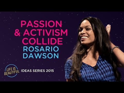 Rosario Dawson on Letting Your Passion Guide Your Activism