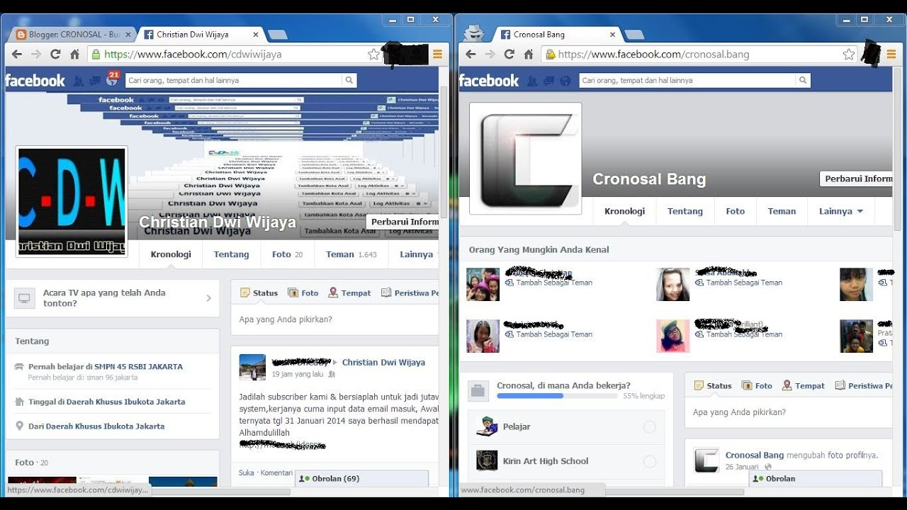 How to Open Two Facebook Accounts on One Browser
