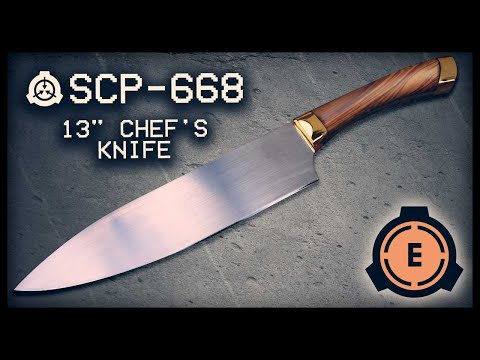 """SCP-668 : 13"""" Chef's Knife : Euclid : Mind Affecting SCP"""