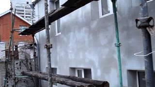 Фасадные работы(Фасадные работы, поклейка пенопласта, поклейка сетки, короед., 2013-04-24T18:36:03.000Z)