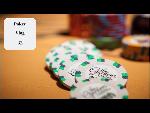Buried At The Gardens: A No Limit Texas Hold Em Nightmare! Poker Vlog 32
