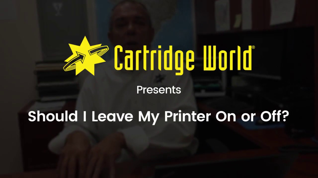 Should You Keep Your Printer On or Off?