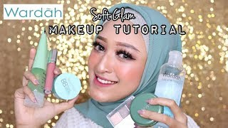 WARDAH ONE BRAND MAKEUP TUTORIAL (Soft Glam) | Seviq Febinita