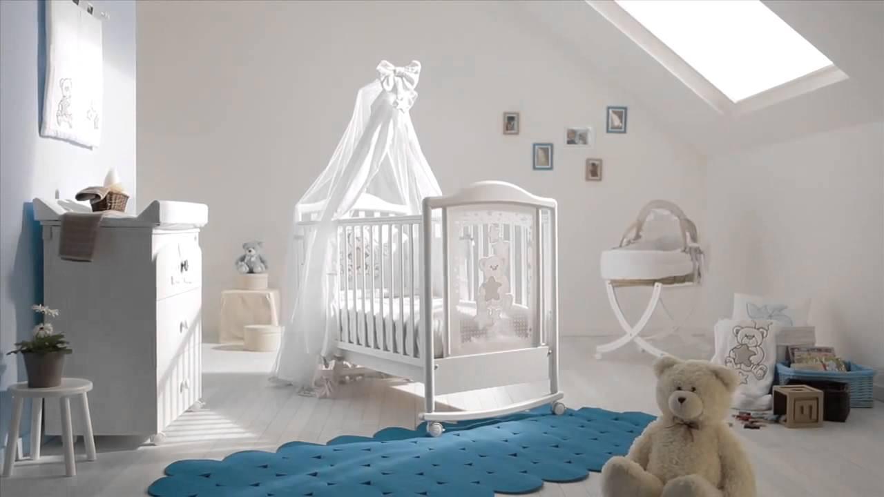 Pali Kinderzimmer - Kinderbetten & Babymöbel aus Italien - YouTube