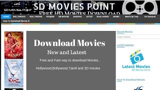 How to download movies for free  Hollywood,Bollywood,Tamil,Dubbed and seasons...