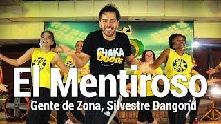 Gente de Zona, Silvestre Dangond - El Mentiroso Dance l Chakaboom Fitness l Choreography