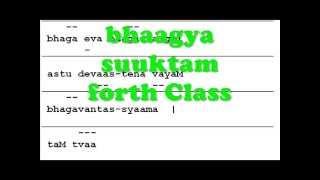 Bhagya Suktam Class IV