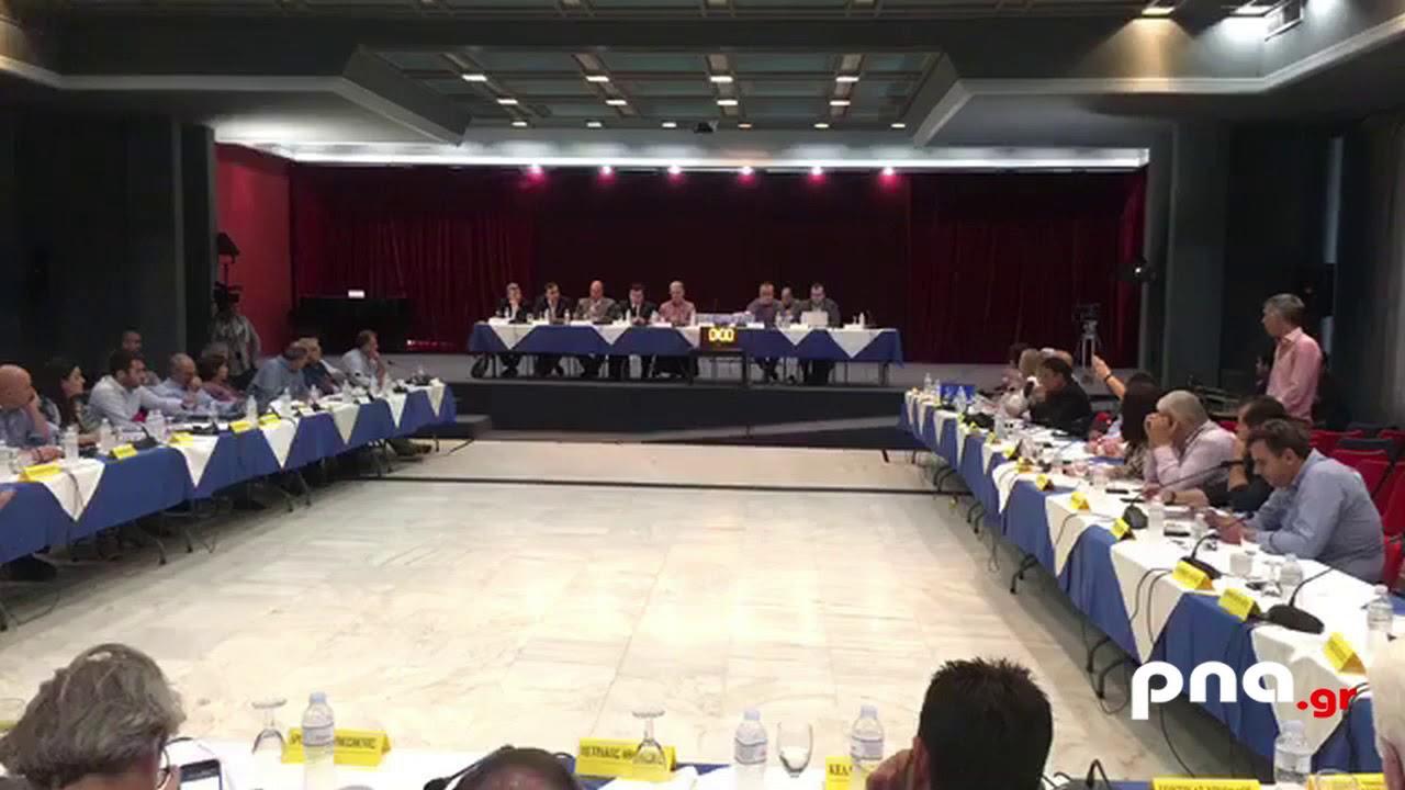 Ένταση μεταξύ Νίκα - Τατούλη και αποχώρηση της Νέας Πελοποννήσου από το Περιφερειακό Συμβούλιο