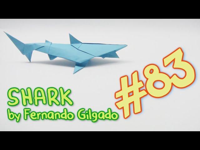 Акула оригами — Оригами из