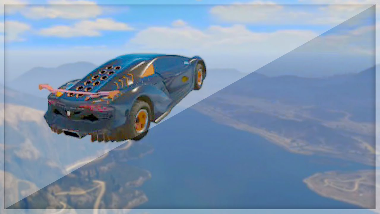 Biggest Sky Car Jump GTA Funny Moments YouTube - Cool cars jumping