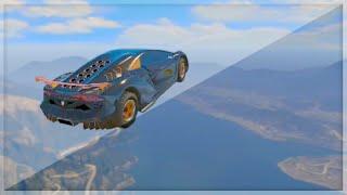 Biggest Sky Car Jump (GTA 5 Funny Moments)