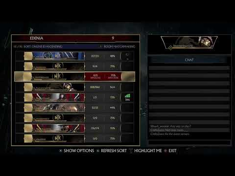 MK11 New update But servers are down!!!