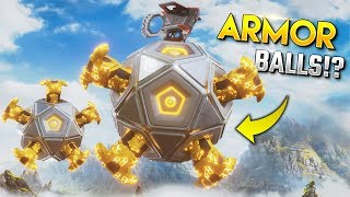 WTF *0.002%* FULL ARMOR SPHERE!! - Best Apex Legends Funny Moments and Gameplay Ep 395
