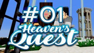 Heavens Quest #01 - Trudniejszy skyblock? /w Gamerspace, Undecided