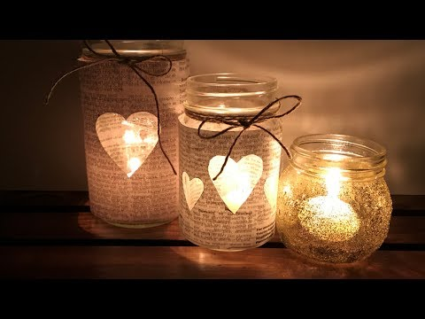 3 Best DIY Mason Jars Creative Ideas
