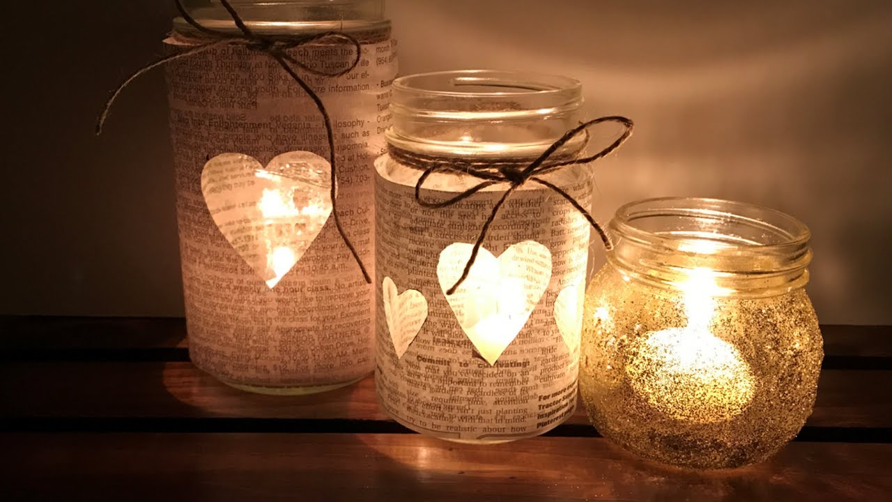 3 Best Diy Mason Jars Creative Ideas Youtube