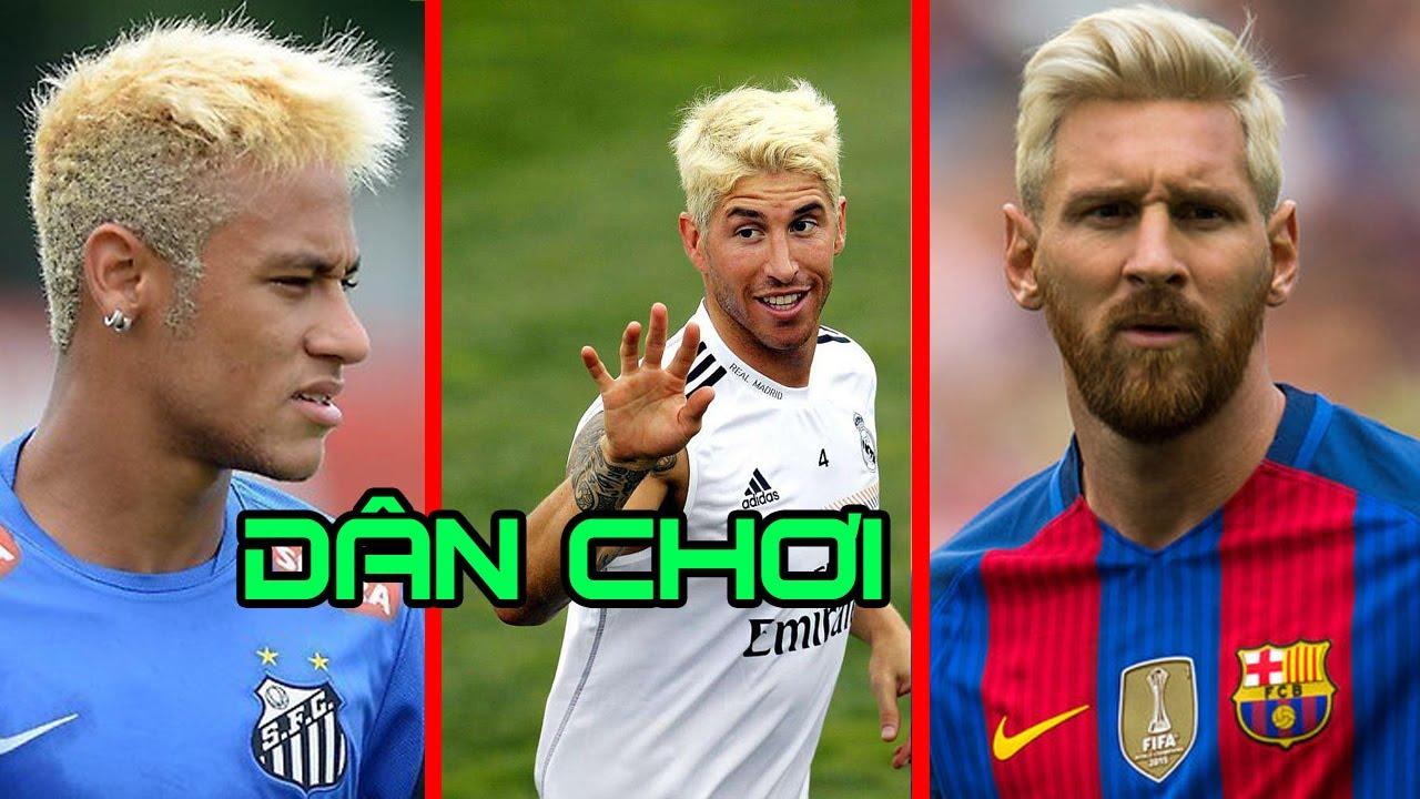 Các cầu thủ bóng đá nổi tiếng từng nhuộm tóc vàng tuyệt đẹp.