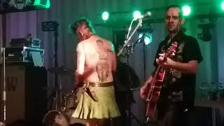 Demented are go . Funnel of love. Cruisers Finland psychobilly bash. 17.8.2019