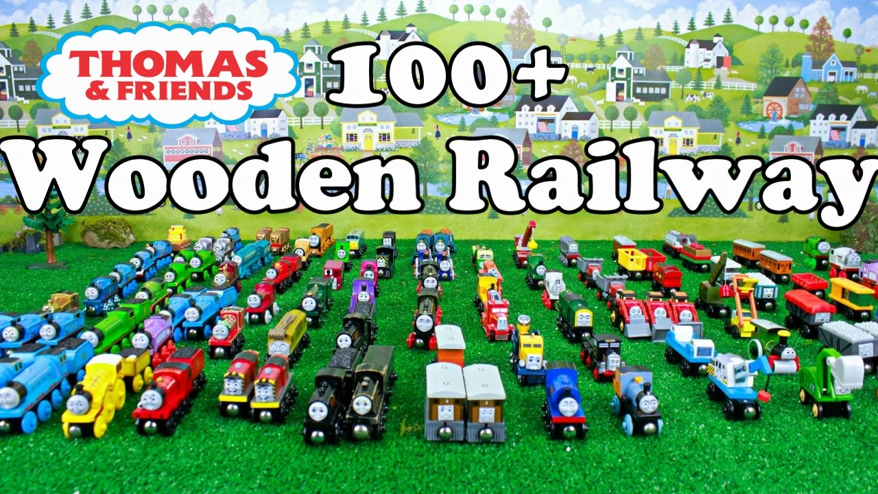 Thomas And Friends 100 Wooden Railway Collection Thomas Wooden Railway Toy Trains