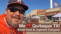 RV Road Trip to Caprock Canyons State Park | Bison Fest | Quitaque TX | RV Texas