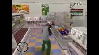 GTA San Andreas Loquendo - CJ va a comprar la cena