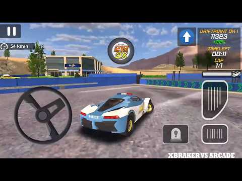 Police Drift Car Driving | Police Drift Drive All Mission 3 Stars - Android GamePlay FHD