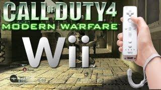 Call Of Duty 4 sur Wii : Un bon délire !